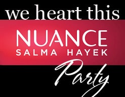 NuanceParty Nuance Salma Hayek for CVS   Beauty Blogger Party