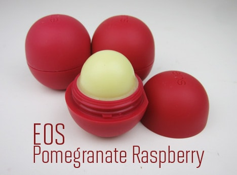 EOS0212 eos Pomegranate Raspberry Smooth Lip Balm Sphere   Green Monday Review