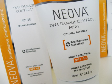 NEOVAdna2 Neova DNA Damage Control EVERYDAY (SPF 44) and ACTIVE (SPF43) Review
