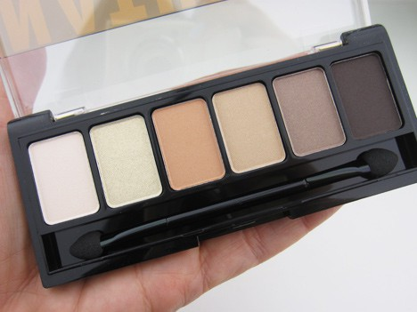 NYXNatSmok3 NYX  Natural Eyeshadow Palette and Smokey Eyeshadow Palette   swatches and review