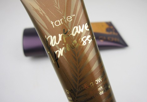 tarteGlow4 tarte Rainforest Glow review, plus a Park Avenue Princess revamp with Bronze & Glow