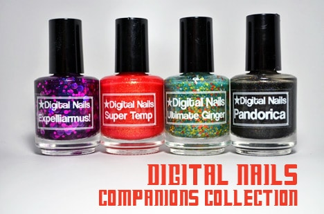 DigitalNailsCompanions1 Digital Nails Companions Collection   swatches and review