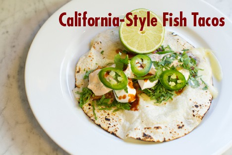 California Kitchen Fish Taco Recipe
