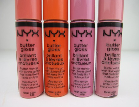 NYXButter1 Current Crushes: MAC Pressed Pigment in Damson, Avon Mega Effects Mascara and NYX Butter Gloss