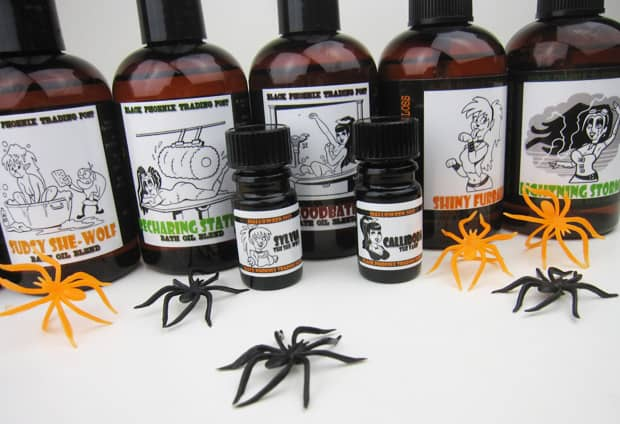 BpalHalloween2013H BPAL Halloween 2013   A review of 24 Halloweenies