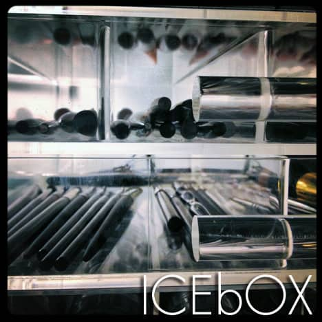 icebox ICEbOX Skinny makeup organizer   photos and review