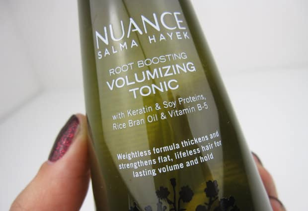 Nuance Hair 5 Nuance Salma Hayek Hair Care   Photos and Review