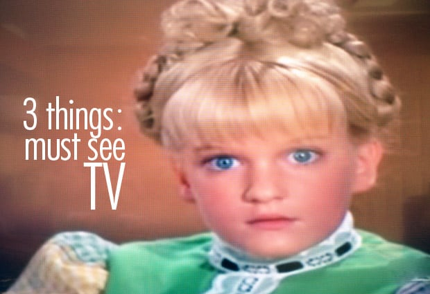 Cindy Brady red light syndrome 3 things: Must See TV