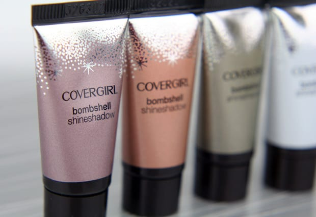 Covergirl Bombshell shineshadow 4 COVERGIRL Bombshell Shineshadow   Swatches and Review