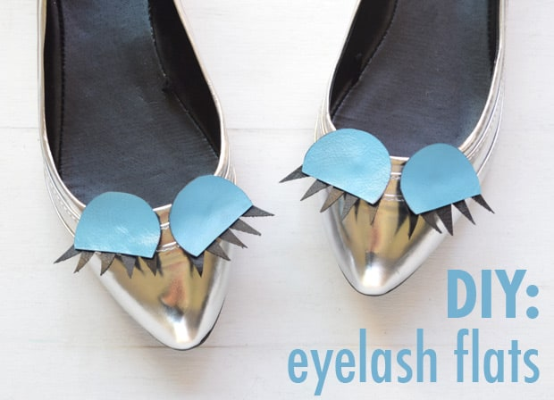 Easy DIY Projects: Eyelash Flats | we heart this