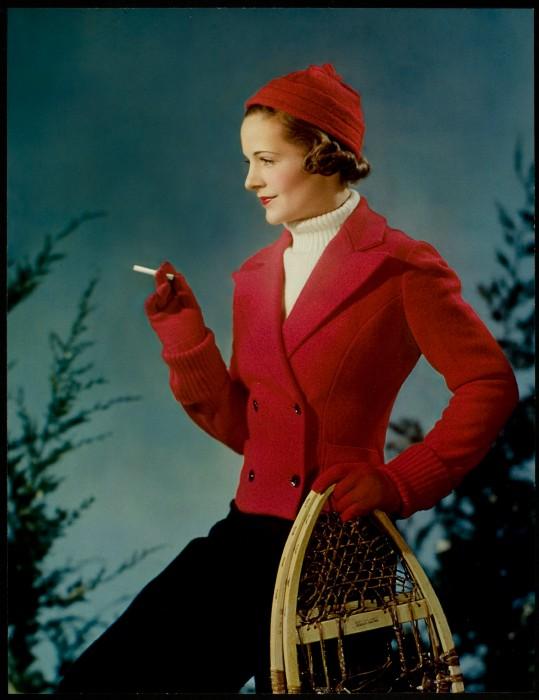 1930s vintage advert: Lucky Strike