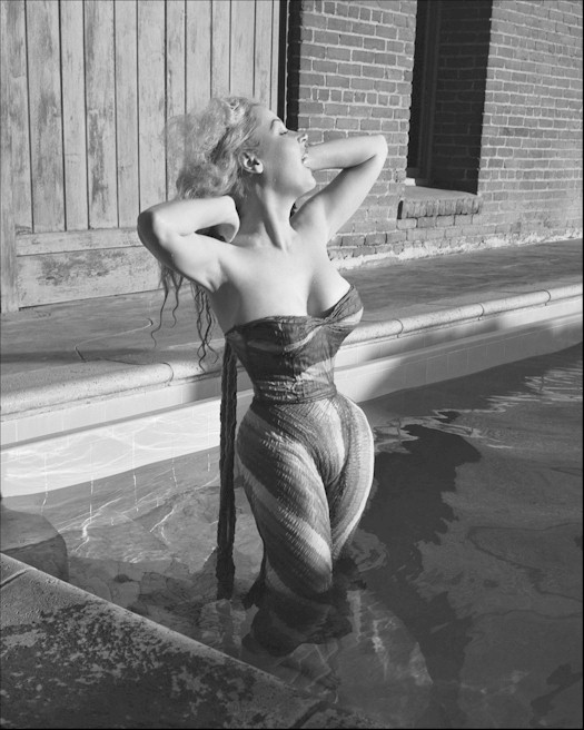 50s pin up girl Betty Brosmer