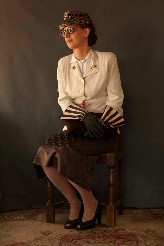 Vintage 1940s fashions
