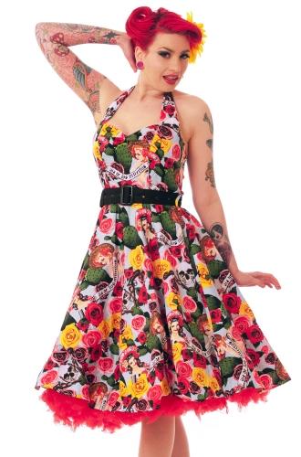Hell Bunny - Mexico 50s pin up Dress