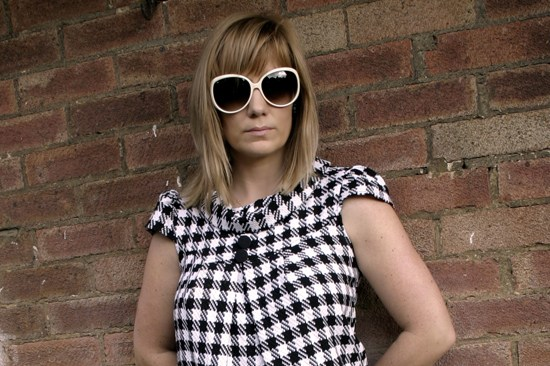 Outfit photo vintage houndstooth dress