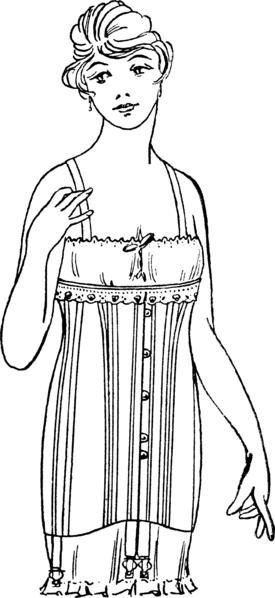 1920s corset