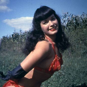 Pin up girl Bettie Page