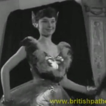 An Unknown Audrey Hepburn Modelling with Pointy Ears (!)
