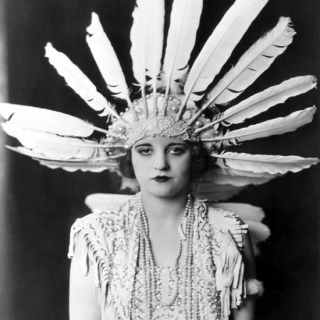 Talullah Bankhead in costume, 1920s