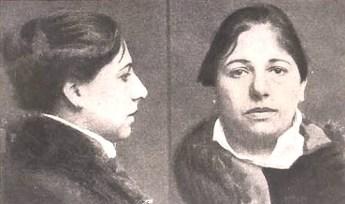 Mata Hari just before her execution