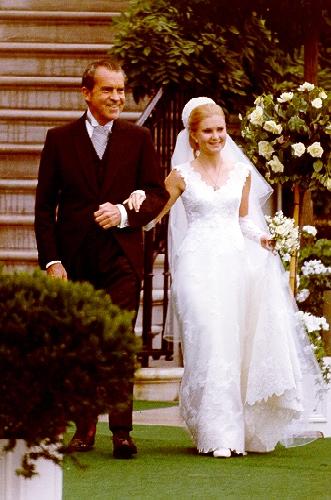 Tricia Nixons wedding dress