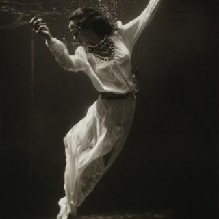 Underwater fashion show, 1930s