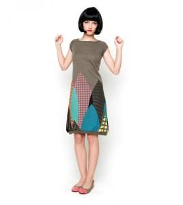 Ezkibia Dress Skunkfunk
