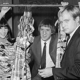 Sonny and Cher with the Man from U.N.C.L.E.