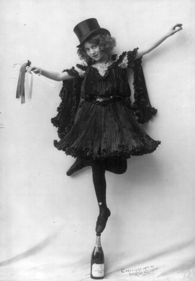 Vintage acrobat