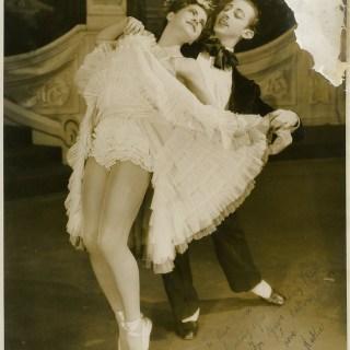 Caption competition: 1940s ballet dancers