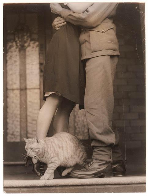A soldiers goodbye WW2