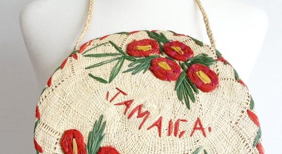 Vintage 1940s-50s Jamaica bag