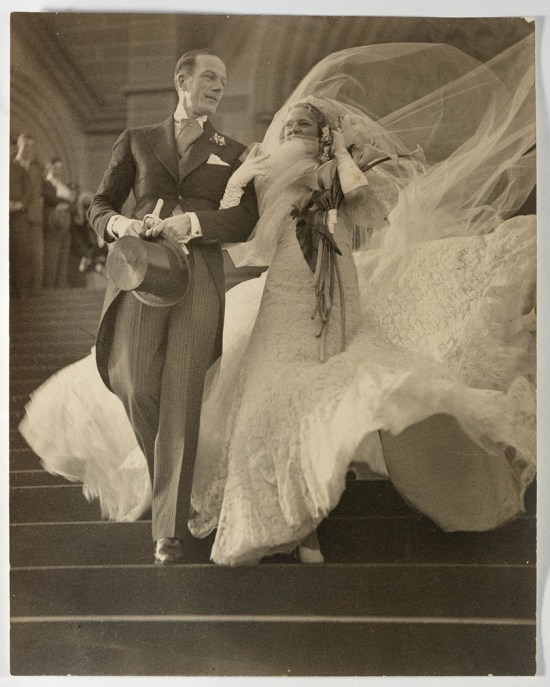 1930s wedding photo