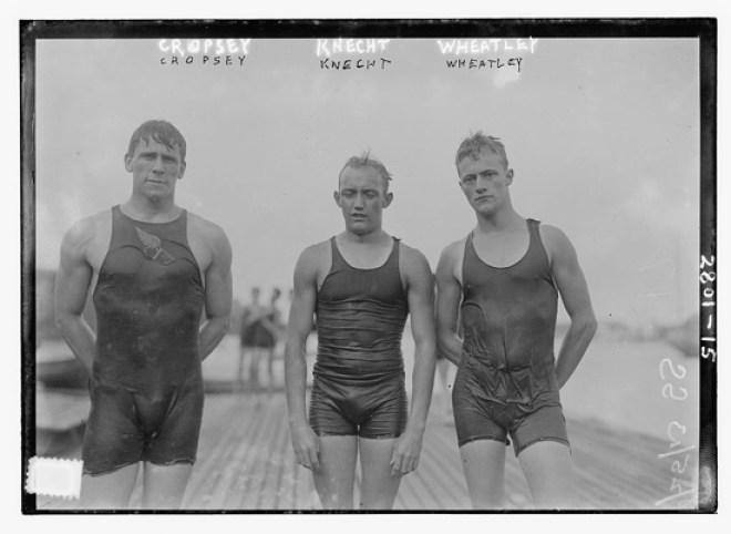 Vintage mens swimwear