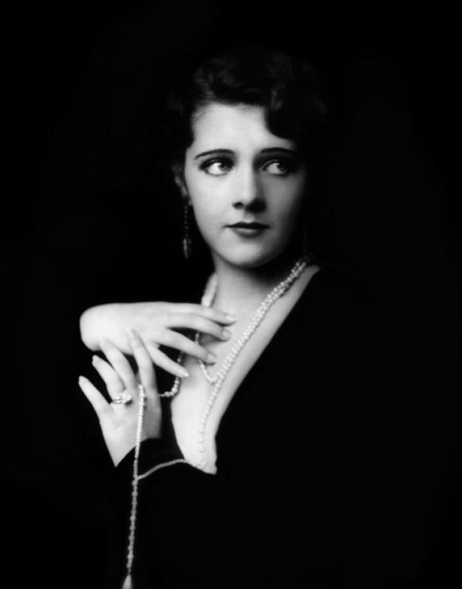 Actress, singer, and dancer Ruby Keeler