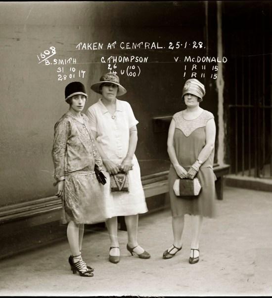 Vintage criminal mug shots 1920s and 1930s