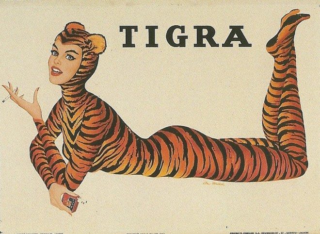 Tigra Cigarette Girl