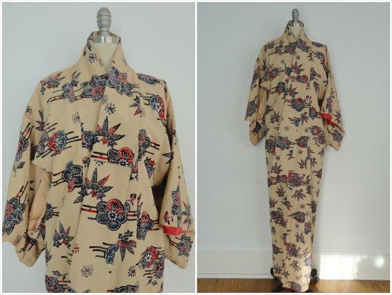 Downton Abbey style vintage Kimono