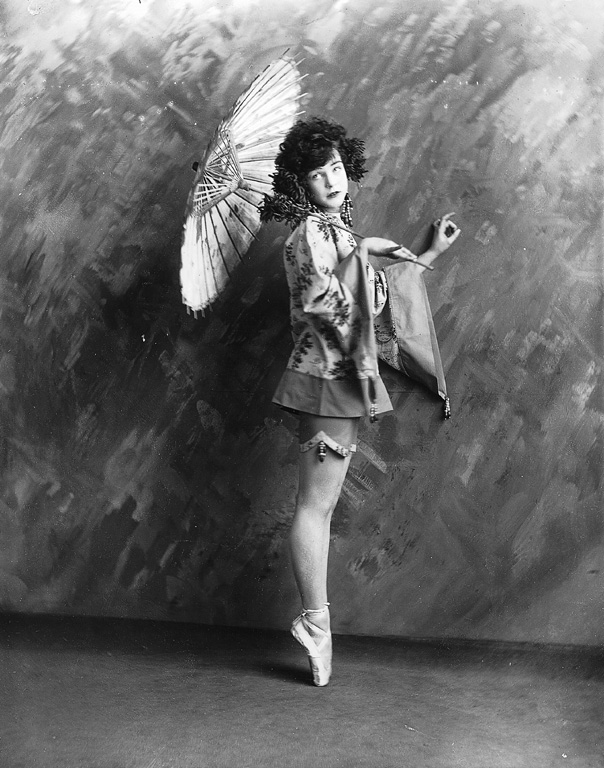 A Chinese-Inspired 1920s Ballet Costume