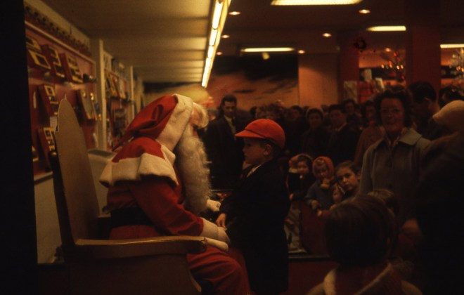 1960s Santa