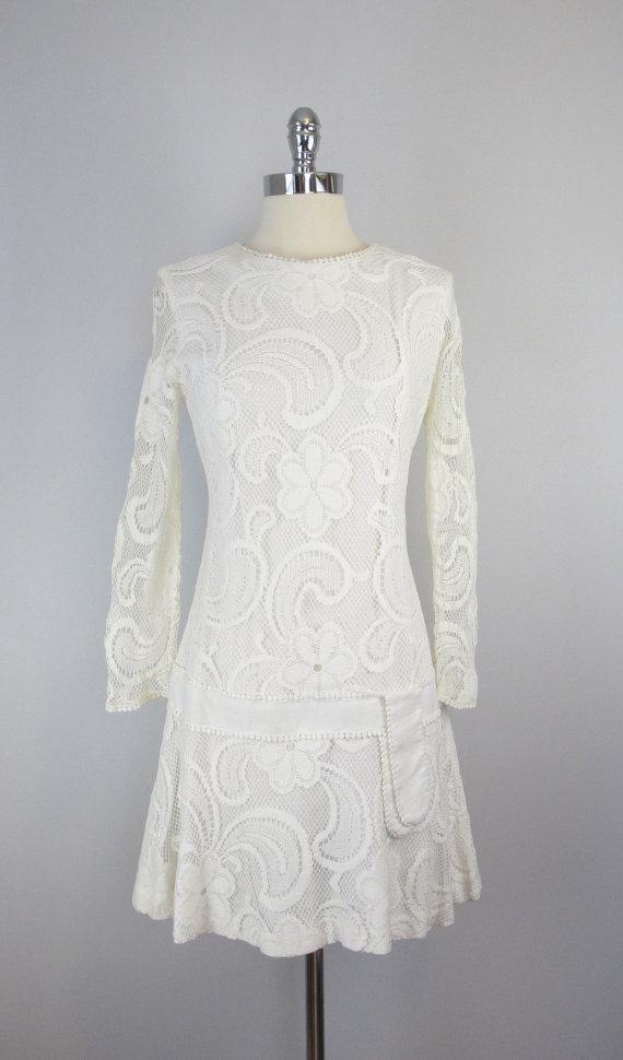 Vintage 1960s Mod Minidress