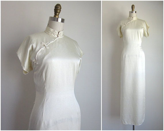 Vintage 1930s Oriental Dress