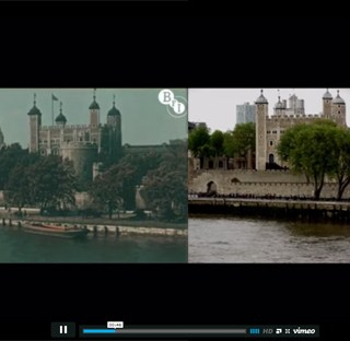 London Then and Now (Video)