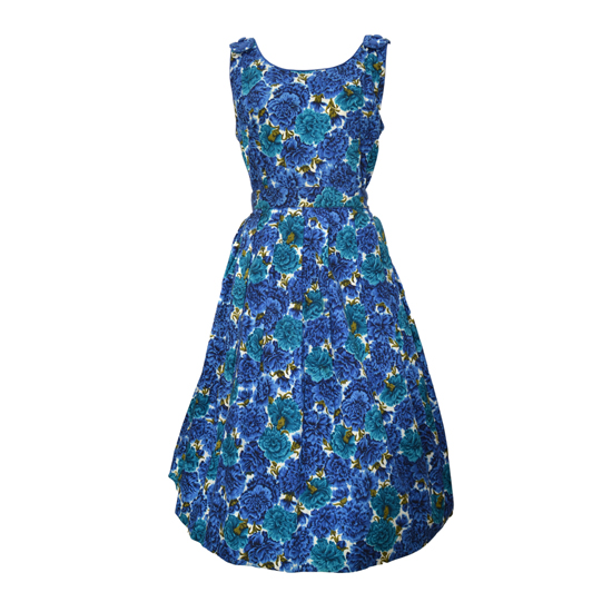 1950s Cover Girl Cotton Frock