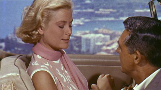 Grace Kelly in 'To Catch A Thief' with Cary Grant