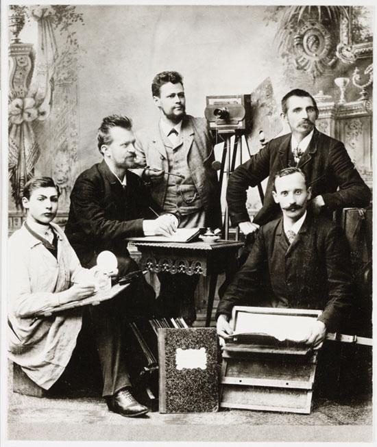 Vintage selfie photograph