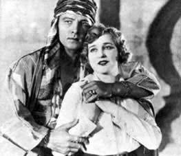Rudolph Valentino Agnes Ayres, The Sheik