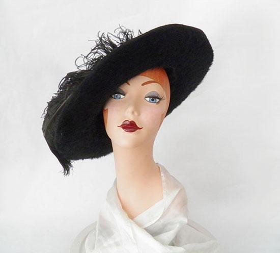 Edwardian Victorian hat