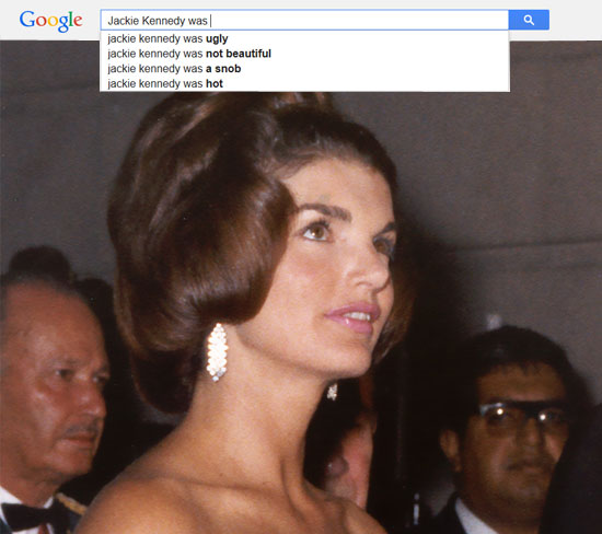 Google results for Jackie Kennedy