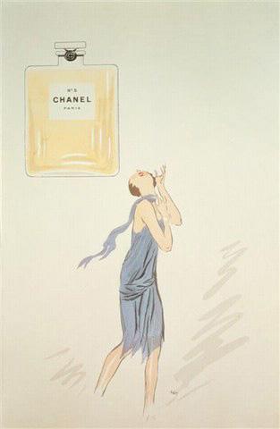 1920s Chanel No.5 Advert